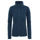 """The North Face W's Crescent Fleece Jacket Ink Blue Heather"""